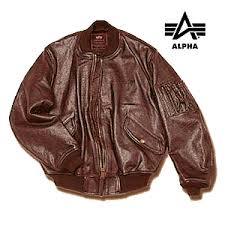 flight jacket leather