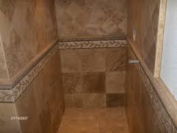 travertine tile showers