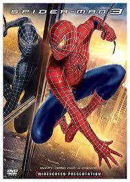 spider man 3 dvd