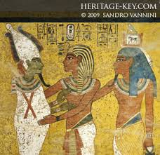 egyptian mural paintings