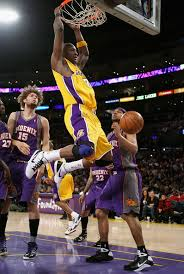 lakers dunks