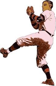 clip art pitcher