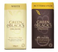green and blacks white chocolate