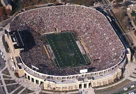 college football stadium photos