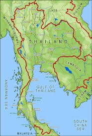 geography thailand