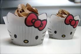 hello kitty cupcake liners