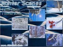 desktop winter scenes