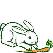 clip art of rabbit
