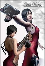 resident evil game characters