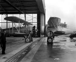 old biplanes