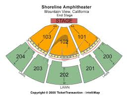 shoreline amphitheatre seating