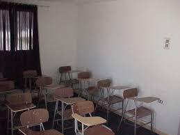 en la sala de clases