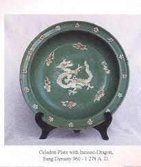 celadon pottery