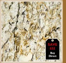gold and silver granite