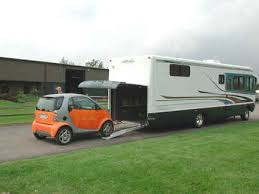 motorhome with garage