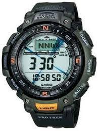 casio pro trek watches