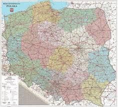 samochodowa mapa polski