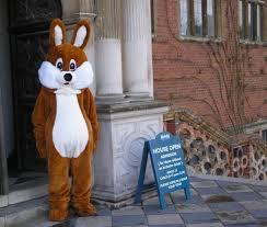 brown bunny costume