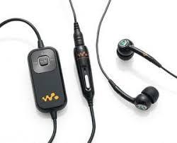 sony ericsson walkman earphones