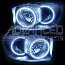 dodge ram halo headlights