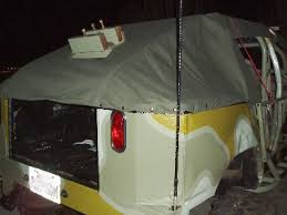 homemade truck topper