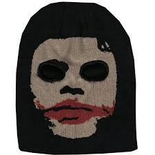 mask depicting the cold one