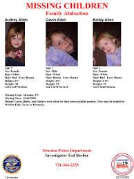 missing children 2009
