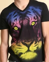 tiger print tshirts