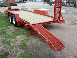 backhoe trailer