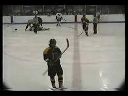 huge hockey check