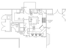 kitchen design drawing