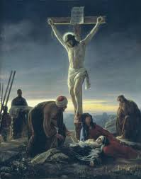 crucifix paintings