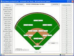baseball lineups