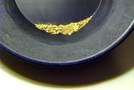 an ounce of gold