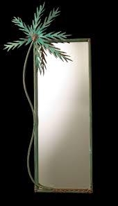 palm tree mirrors