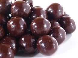 chocolate covered hazelnuts