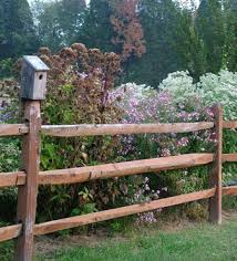 rustic garden fences