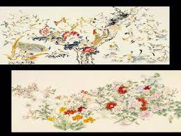 100 birds painting