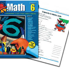 6th grade math books