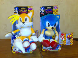 sonic the hedgehog plushies