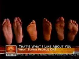 ladies with big feet