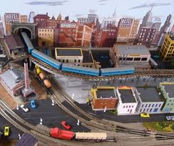 pictures of model train layouts