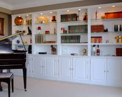 bookcases wall