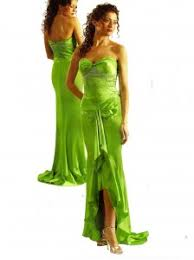 lime green prom dresses 2009