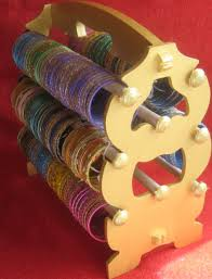 indian bangle stands