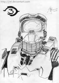 halo 3 drawings
