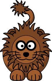 lion cartoon clip art
