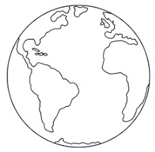 cartoon picture of the earth
