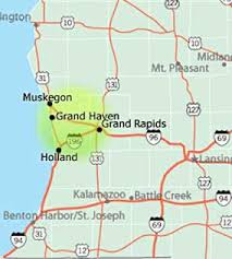 map of west michigan