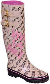 juicy couture rubber boots